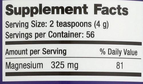 Natural Calm Orange Magnesium 8oz 226 G