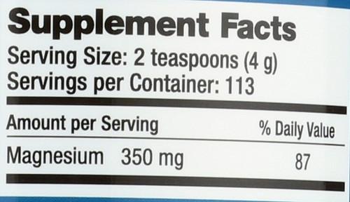 Natural Calm Original Magnesium 16oz 453 G