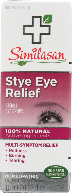 Sterile Eye Drops Stye Eye Relief