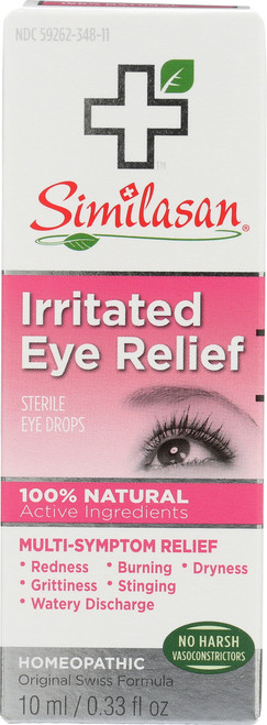 Sterile Eye Drops Irritated Eye Relief