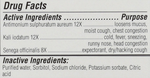 Kids Cold & Mucus Relief Syrup Kid Friendly Flavor Expectorant 118 Ml 4 Fl oz