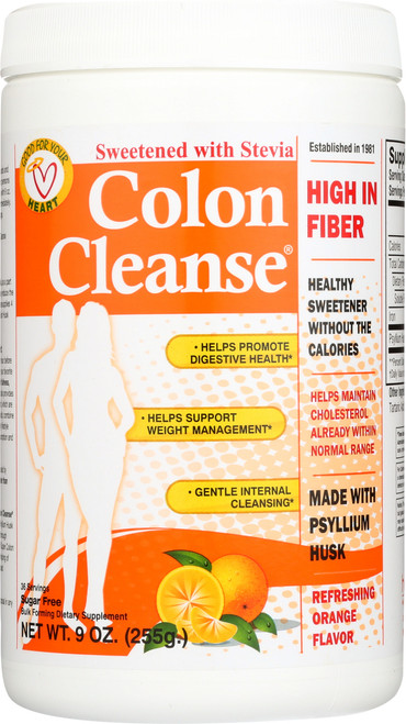Colon Cleanse® Sweetened With Stevia - Orange