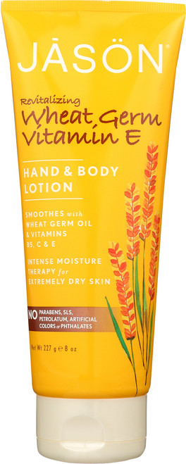 Hand & Body Lotion Revitalizing Wheat Germ Vitamin E