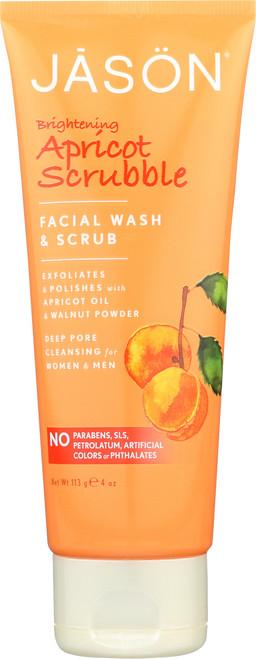 Facial Scrub Scrubble Apricot Jsn Scrubble Apricot Natural