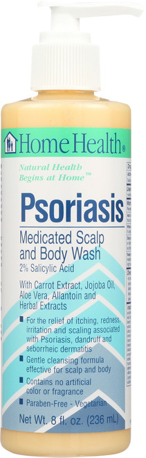 Psoriasis  Medicated  Scalp & Body Wash