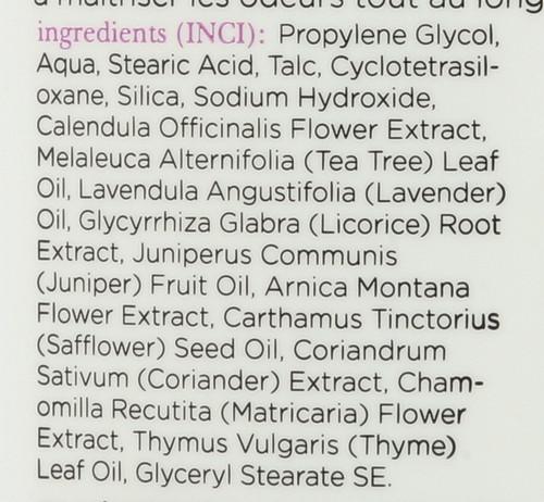 Deodorant Tea Tree Lavender  70 G 2.45oz