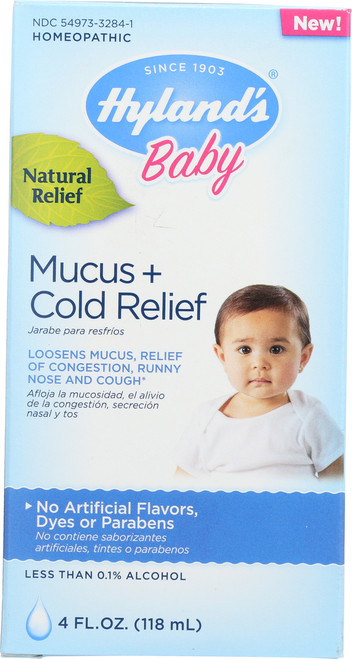 Baby Mucus + Cold Relief