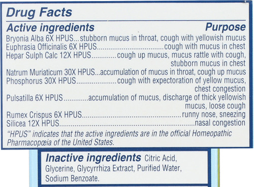 Baby Mucus + Cold Relief  4 Fluid Ounce 118 Ml