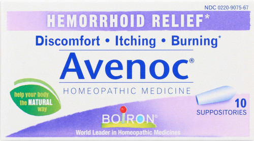 Suppository Avenoc Hemorrhoid Relief