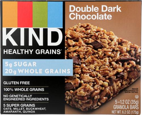 Granola Bars Double Dark Chocolate