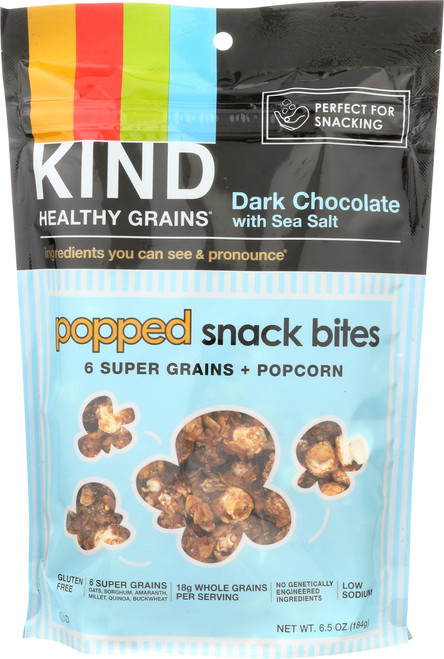 Healthy Grains® Popped Snack Bites Dark Chocolate