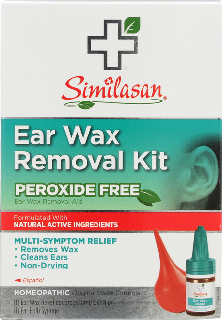 Ear Wax Removal Kit Peroxide Free