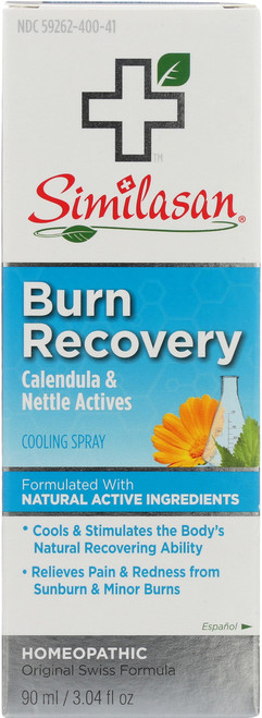 Burn Recovery Cooling Spray Calendula & Nettle Actives