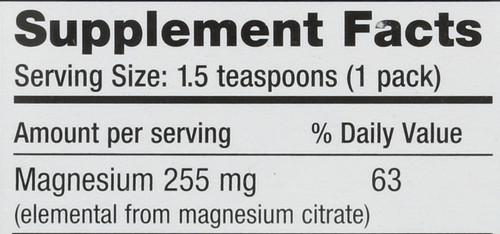 Natural Calm Original A Relaxing Magnesium Supplement 30 Packs 0.12oz