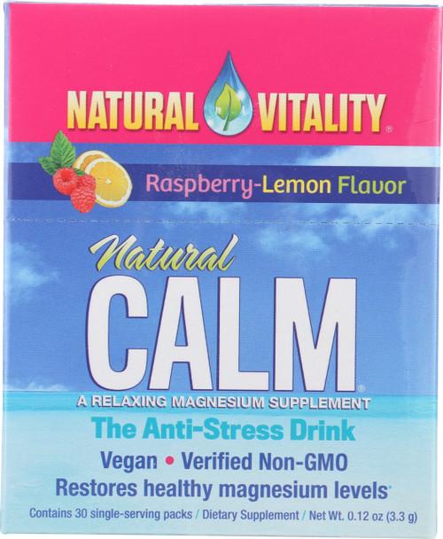 Natural Calm Raspberry-Lemon
