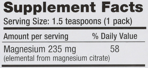 Natural Calm Raspberry-Lemon Magnesium 30 Packs 0.12oz