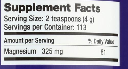 Natural Calm Sweet Lemon Magnesium 16oz 453 G