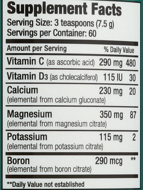 Natural Calm Plus Calcium Original 16oz 454 G