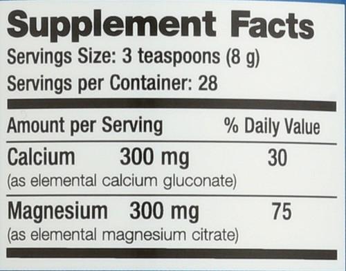 Balanced Calmag Original (Unflavored) Magnesium 8oz 226 G