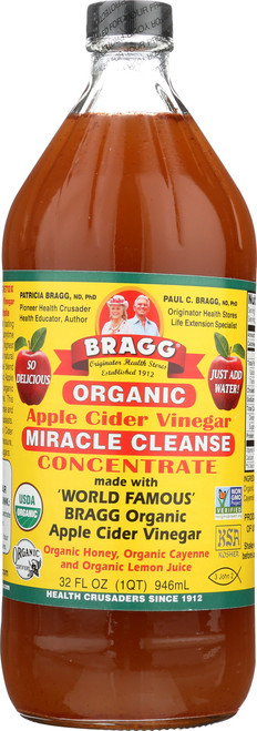 Apple Cider Vinegar Miracle Cleanse Concentrate