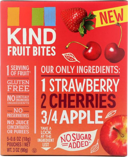 Fruit Bites Strawberry Cherry Apple