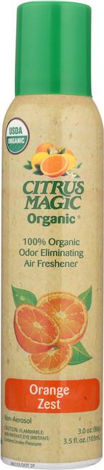 Organic Odor Eliminating Spray Air Freshener - Orange Zest Orange Zest