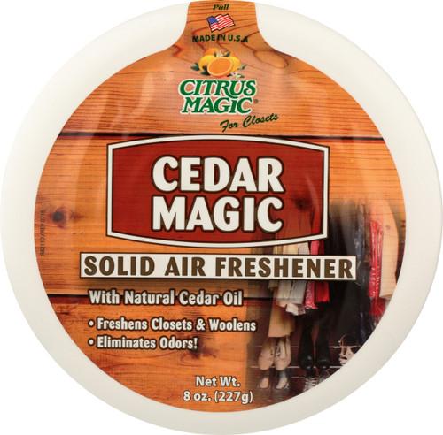 Solid Air Freshner Cedar