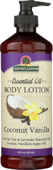 Essential Oil Body Lotion Coconut Vanilla