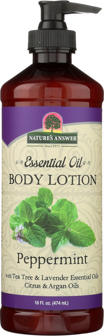 Essential Oil Body Lotion Peppermint