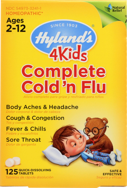 4 Kids Complete Cold N Flu