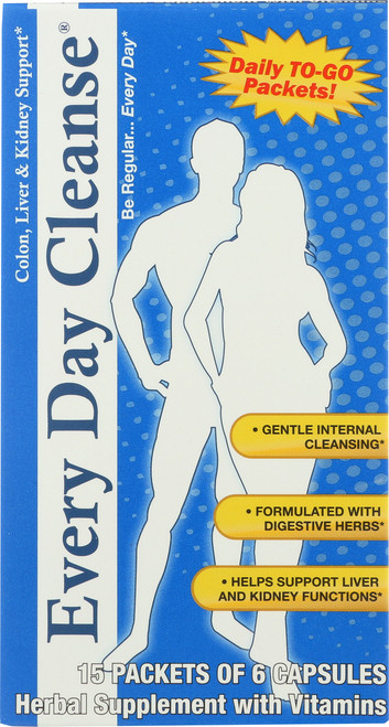 Every Day Cleanse® Colon, Liver And Kidney Support