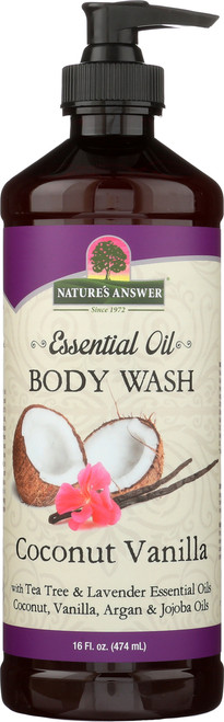 Essential Oil Bodywash Coconut Vanilla