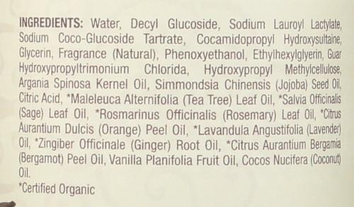 Essential Oil Bodywash Coconut Vanilla 16 Fl oz 474 Ml