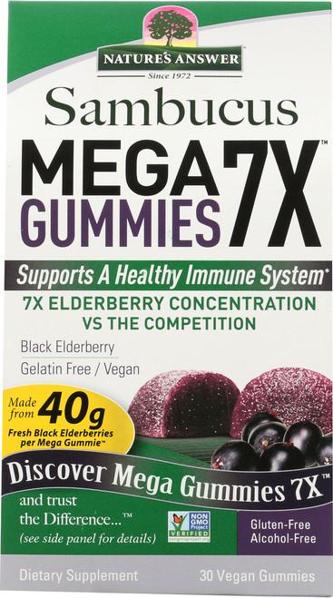 Sambucus Megagummie 7X Elderberry Concentration