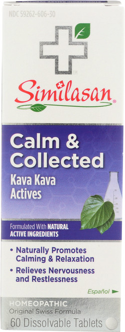 Calm & Collected Homeopathic Calming  Relief With Kava Kava Activities