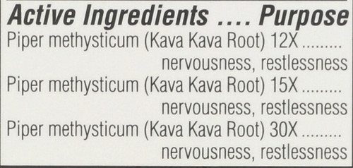 Calm & Collected Homeopathic Calming Relief With Kava Kava Activities 60 Tablets