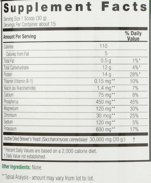 Brewer's Yeast  16oz 454 G
