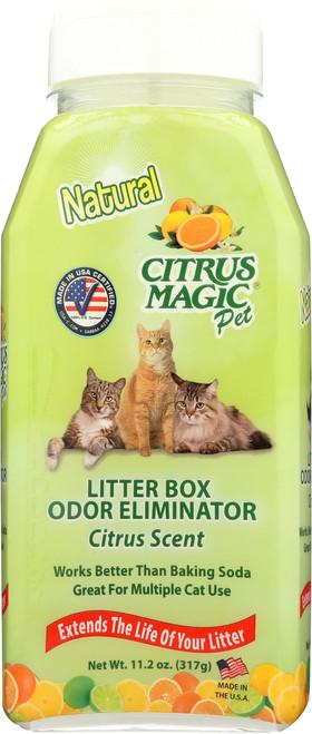 Litter Box Odor Eliminator Shaker Bottle Citrus
