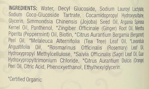 Essential Oil Shampoo Peppermint 16 Fl oz 474 Ml