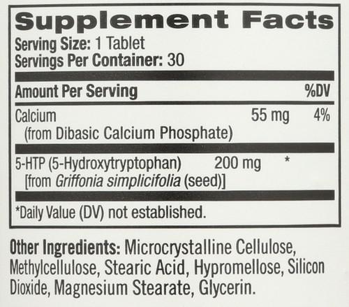 Vitamin/Supplements 5-Htp Tr 200 Mg  30 Tablets