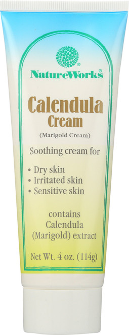 Natureworks Calendula/Marigold Cream 4 Oz Skin Health - Therapeutic