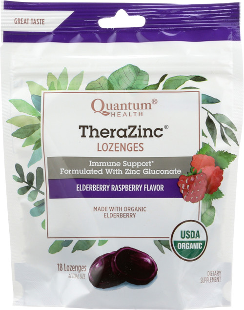 Therazinc Elderberry Raspberry Lozenges Elderberry Raspberry Lozenges