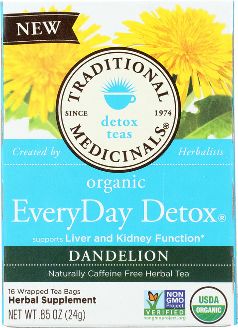 Bagged Tea Everyday Detox® Dandelion