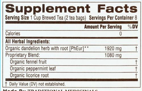 Bagged Tea Everyday Detox® Dandelion Everyday Detox 16 Tea Bag 0.85oz