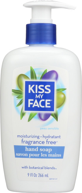 Fragrance Free Liquid Moisture Soap Fragrance Free