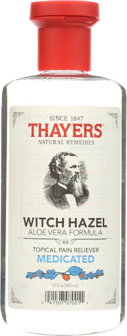 Witch Hazel Topical Pain Reliever Medicated