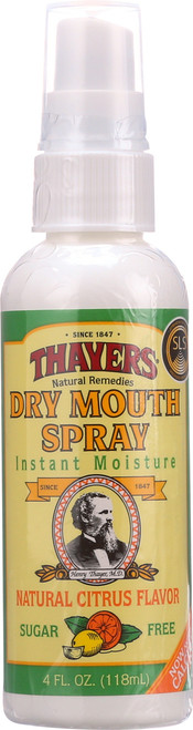 Dry Mouth Spray Natural Citrus