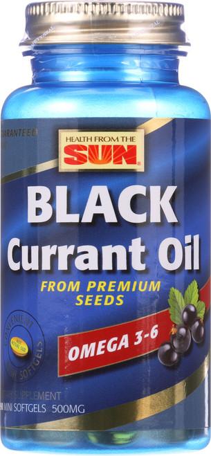 Black Currant Oil Omega 3-6 - 500 Mg