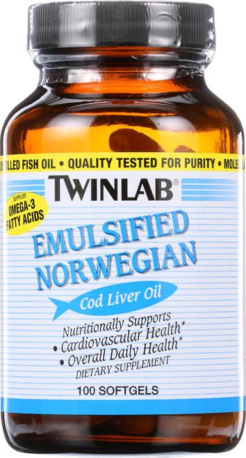 Cod Liver Oil Emulsified Norwegian