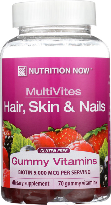 Gummy Vitamins Hair, Skin, And Nails Multivites